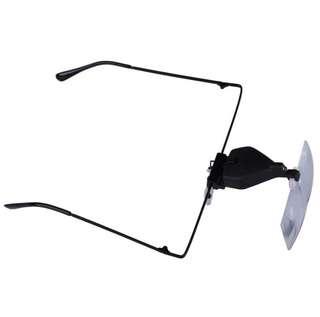 Kacamata pembesar magnifying glass for eyelash extensions etc