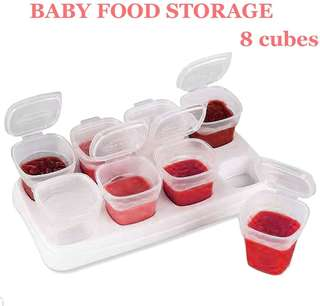 8Cubes Baby Food Storage