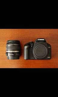 Canon 500D Rental