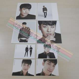 [CRAZY DEAL 90% OFF FROM ORIGINAL PRICE][READY STOCK]BIGBANG SEUNGRI KOREA OFFICIAL CARD SET 8PC; ORIGINAL FR KOREA (PRICE NOT INCLUDE POSTAGE)PLEASE READ DETAILS FOR MORE INFO; POSLAJU:PENINSULAR AREA :RM10/SABAH SARAWAK AREA: RM15