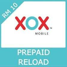 XOX Prepaid Topup
