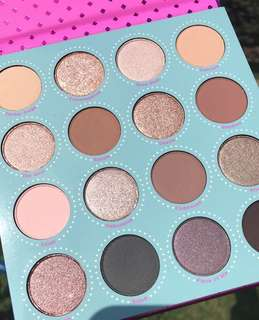 [ LAST ] Colourpop Fame Pressed Powder Eyeshadow Palette