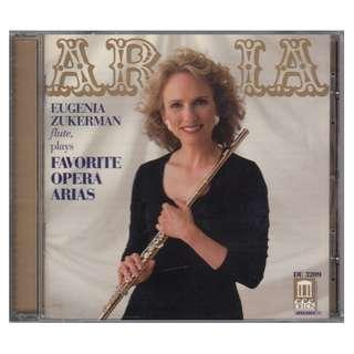<Eugenia Zukerman (Flute) plays Favorite Opera Arias> 1997 CD (Brand New)