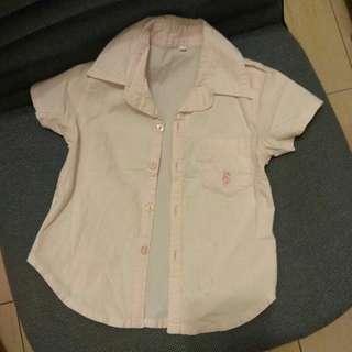 🚚 童彈力棉襯衫7號