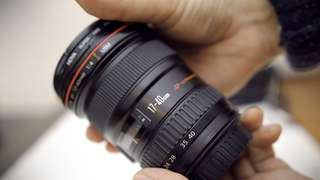 Rental Canon L Lens 17-40mm