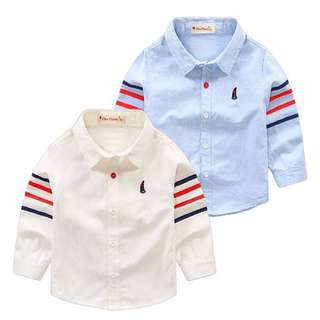 Boys long-sleeved shirt