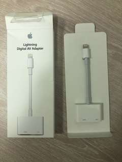 Apple lighting digital av adapter