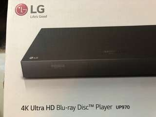 4K ultra HD blue ray player LG