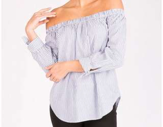 BNWT Bluenotes Off Shoulder Tops (also available in Pink)