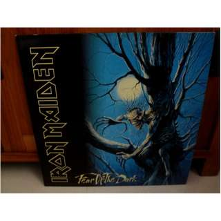 Iron Maiden Fear Of The Dark Gatefold 2 Vinyl LP Record