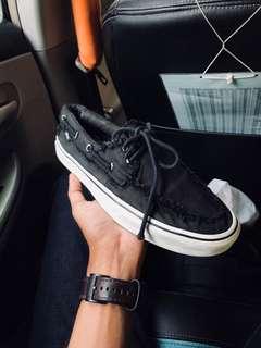 Vans Zapato Del Barco Black/White