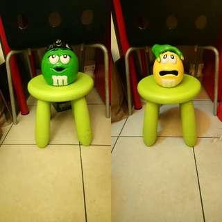 M&M's搞怪陶瓷罐組