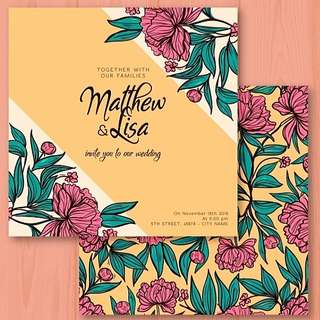 Invitation Card Design Service