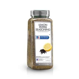 McCormick Culinary Lemon & Pepper Seasoning 680g