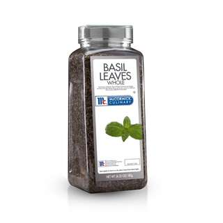 McCormick Culinary Basil Leaves Whole 180g