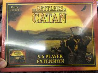 Brand new sealed Settlers of Catan Expansion pack