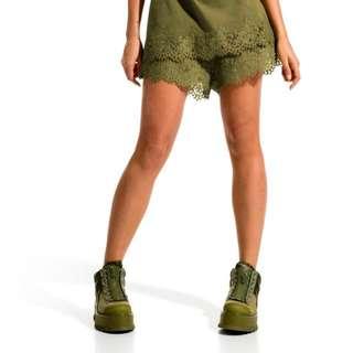 Fenty PUMA 蕾哈娜 蕾絲短褲