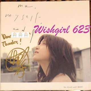 🚚 Michelle 陳妍希 -『Me, Myself, and I』首張國語專輯CD (親筆簽名版)~ 新神雕俠侶、小龍女