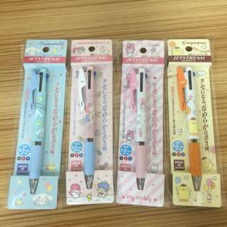 Sanrio三色筆