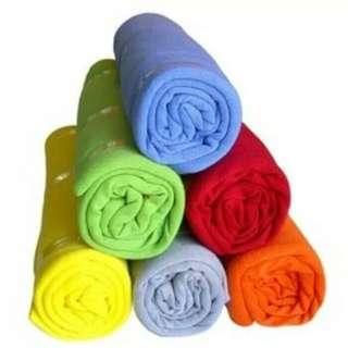 selimut bayi / bedong rainbow