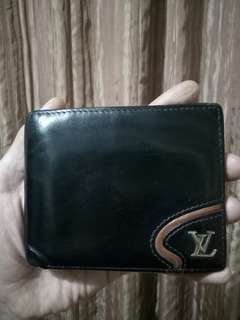 Dompet Louis Vuitton Paris kulit asli original