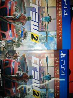 PS4 GAME THE CREW 2 DELUXE EDITION
