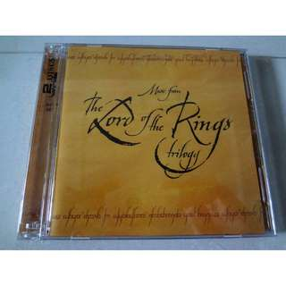 Music From The Lord Of The Rings Trilogy 2 CD