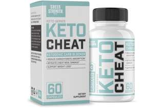 [IN-STOCK] Extra Strength Ketogenic Carb Blocker & Appetite Suppressant - Promotes Healthy Weight Loss - White Kidney Bean, Green Tea Extract, Cinnamon - 60 Fat Burner Pills - Sheer Strength Labs