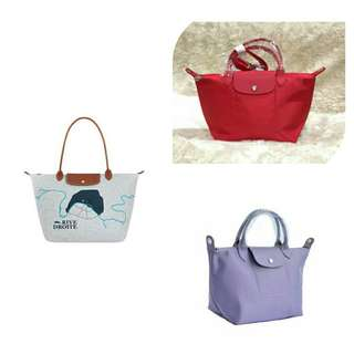 All for 2500! 1 Authentic Longchamp Droite L and 2 Authentic Longchamp Neo S