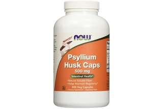 [IN-STOCK] NOW Psyllium Husk 500 mg,500 Capsules