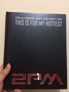 Buku K POP 2PM This is For My Hottest