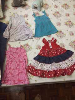 Girls 1-2 years clothes