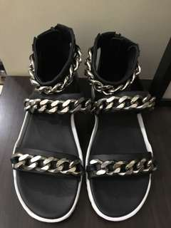 Givenchy Mens Chain Sandals
