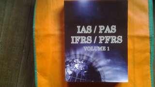IAS / PAS / IFRS /PFRS Volume 1