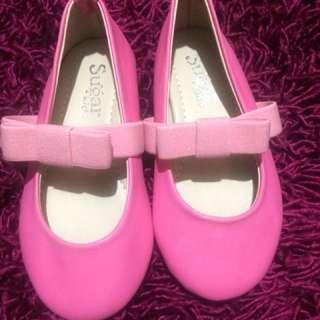 Sugarkids pink shoes