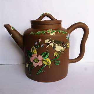 * 022 * ROC Chinese Yixing Zisha Teapot 民国宜兴紫砂茶壶