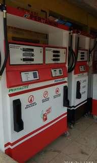 Pom bensin mini / pertamini / pomini 2 nozle