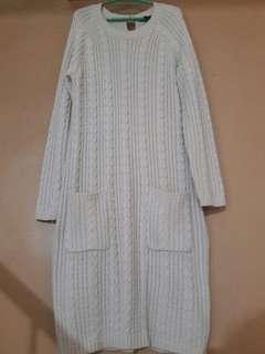 Plus-size H&M Knit Sweater dress