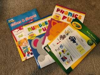 Children's work books
