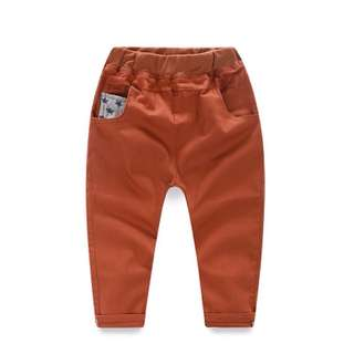 Children's casual slim pants