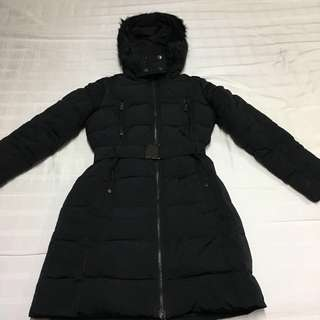 Mango Feather Down Winter Coat (S)