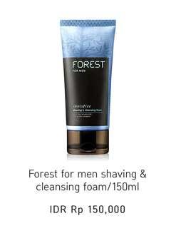 Innisfree shaving & cleansing foam