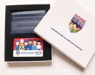 Limited Edition Home Team Flashpay Card and Cardholder