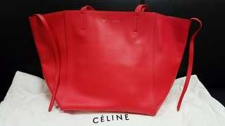 Celine Calfskin leather tote