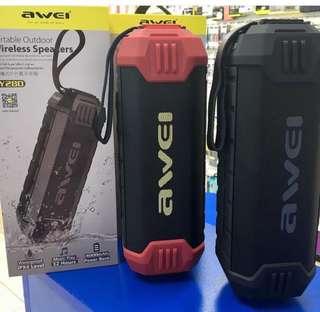 AWEI Y280 waterproof bluetooth speaker with powerbank‼️‼️‼️