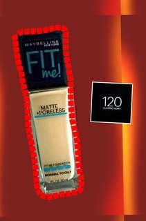 Maybelline Fit Me! Matte + Poreless Liquid Foundation