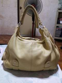 SIGRID OLSEN Genuine Leather Shoulder Bag