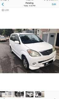 Avanza 2016 1.3L Auto