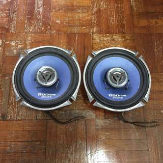 ALPINE Coaxial 2way Speaker DDS-172C