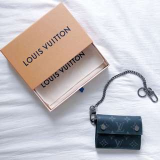 LV Rivets Chain Wallet
